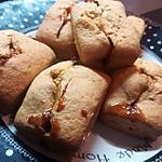 recette Minis cakes au caramel