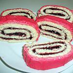 recette gâteau roulé (fourré à la confiture de fraise)