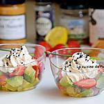 recette Verrine fraîcheur printanière: avocat , tomate et fraise, végétarien