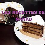 """recette """"Gâteau pâte d'amande"""""""