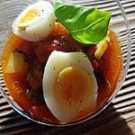 recette Oeuf de caille ratatouille