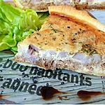 recette Tarte à la tourangelle - rillettes Tours- rillons
