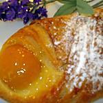 recette Feuilletés aux abricots