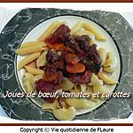 recette Joues de bœuf, tomates et carottes