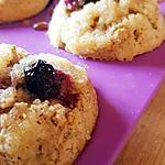 recette Muffins aux myrtilles avec streusel