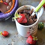 recette On recycle les chocolats de Pâques : le mug cake antigaspi