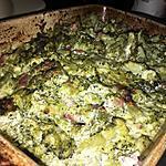 recette Gratin de brocolis a la carbonara