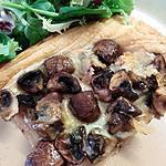 recette Tarte fine champignons munster au cumin
