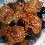 recette Osso bucco de dinde au cidre et aux pruneaux