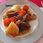 recette Bourguignon de bœuf au cookéo