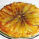 recette Tatin d'endives à la cassonade et moutarde douce, végétarien
