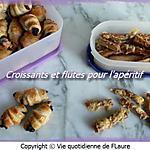 recette Croissants et flûtes pour l'apéritif