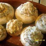 recette champignons farcis au fromage