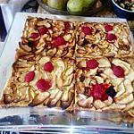 recette tartelettes rhubarbe  pommes fruits  rouges