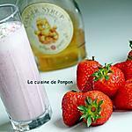 recette Boisson aux fraises et sirop de gingembre