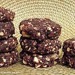recette Galettes de dattes, cacao et noix du Brésil