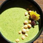 recette Velouté d'orties,pissenlits,persil, sauge, ail thym et pois chiches! Un concentré de bienfaits!!!