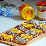 recette Pour un apéro super facile: toasts garnis de rouille sétoise ou de terrine de campagne au piment d'Espelette