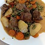 recette sauté d'agneau et ses légumes