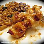 recette Brochettes de poulet bbq à l'asiatique +
