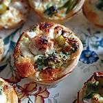 recette Mini quiche poulet brocolis