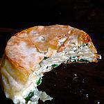 Börek au fromage blanc de maman
