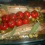 recette Rouget grondin perlon à la sauge