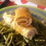 recette Blanc de poulet farcis