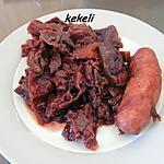 recette Potée au chou rouge au cookeo