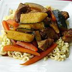 recette Légumes Ragoût de Porc et Cornettes