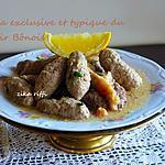 recette DOLMA LHAM MKAFET / TERROIR BÔNOIS