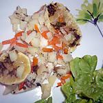 recette Papillote de carrelet