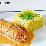recette Ballottine de poulet à la mozzarella, basilic et moutarde douce