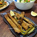 recette Authentiques bourek annabi en cigares à la viande hachée