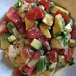 recette Ceviche tomate avocat