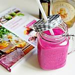 recette Smoothie betterave rouge et framboise, vegan