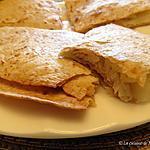 recette Quesadillas au poulet, à la pomme et au fromage +