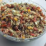 recette Salade de boulgour