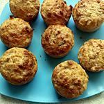 recette muffins au thon et olives