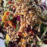 recette Salade thaï de poulet et mangue