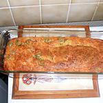 recette Cake au jambon et olives vertes
