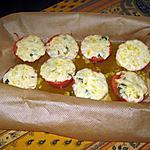 recette Tomates-mozza gratinées