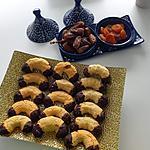 recette CROISSANTS A LA NOIX DE COCO ET CHOCOLAT
