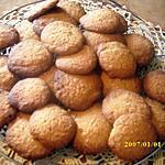 recette Biscuits aux noisettes amandes noix de coco