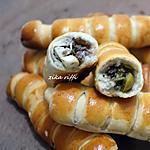 recette Petits pains farcis viande fromage et œufs durs
