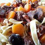recette BOEUF CAROTTES AU VIN BLANC
