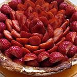 recette tarte aux fraises crémeuse
