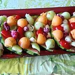 recette recettes été     avec  fruits dée trouvée l année derniére  sur le blog gastronoome  isabelle perrin