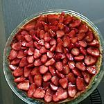 recette Tarte aux fraises (thermomix)