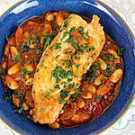 recette Ragoût de Poisson aux Haricots Blancs